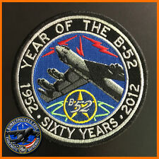 B-52 STRATOFORTRESS 60TH ANNIVERSARY PATCH, GLOBAL STRIKE COMMAND BARKSDALE AFB