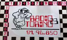 Vintage Italian Radio Sticker - Classic Car Sticker Italy Fiat Alfa Romeo Lancia