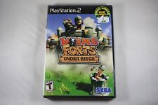 Worms Forts: Under Siege (Sony Playstation 2 ps2) NEW Factory Sealed