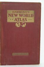 HAMMOND WORLD ATLAS 1937 VERY RARE DOUBLEDAY, DORAN