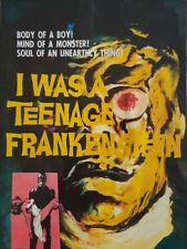 I WAS A TEENAGE FRANKENSTIEN  (DVD 1957 Gary Conway classic horror sci-fi )