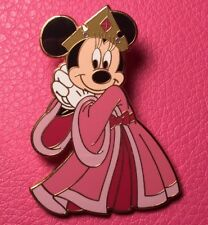 DISNEY PIN - MINNIE MOUSE as Sleeping Beauty Princess Aurora in Pink HKDL