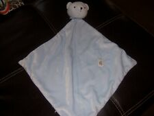 Precious First blue bear Lovey Security Blanket Lovely