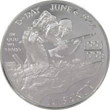 1993 W $1 World War Ii Commemorative Silver Dollar Coin Choice Proof