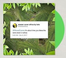 """WEEZER Africa Limited Green Vinyl 7"""" Single URBAN OUTFITTERS 1500 Made In hand"""