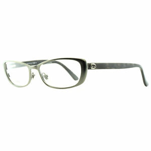 Gucci GG 2883 SBM Silver Rectangular Optical Frames Eyeglasses