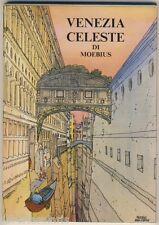 Moebius VENEZIA CELESTE cofanetto contenente 12 cartoline a colori NUOVO