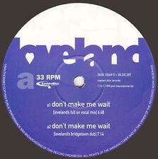 LOVELAND - Don't Make Me Wait, Feat. Rachel McFarlane - Eastern Bloc
