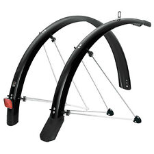 SKS Chromoplastic Road Racing Bike Mudguards P35 Black