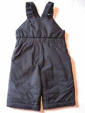 Columbia Sportswear Boy's or Girl's Snow Bibs 6 Month Black Snow Pants