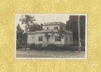 NY Portville 1912 RPPC real photo postcard LIBRARY New York TO Cuba NY