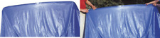 More details for steinbach pool swimming pool overlap liner with pouch thickness 0.22,blue, diam