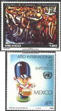 Mexico 1751,1752 (kompl.Ausg.) postfrisch 1981 Sondermarken
