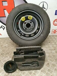 FORD FIESTA MK7 FULL SIZE SPARE WHEEL WITH JACK 2009-2017