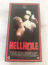 Hellhole VHS 1985 Horror Slasher Movie-Scary Thriller-VHS Format