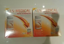 New Boxed XLS MEDICAL Max Strength Weight Loss Aid 2x120 Tablets 2 Month Supply