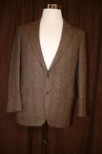 Vintage Magee Donegal Hand Woven Wool Blazer Jacket Danny Flood Multi Color 38SH