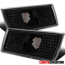 For 2004-2010 Chrysler 300C Black Clear Side Marker Lights Bumper Signal Lamps