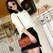 Fashion Women Girl Leather Shoulder Bag Crossbody Tote Messenger Handbag Purse