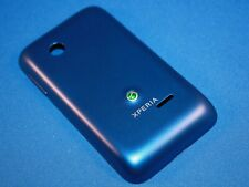 Sony XPERIA Tipo ST21i Battery Cover Keypad Back Cover Shell Original New Blue