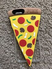 Victoria Secret Pink 3D Cartoon Silicone Soft Rubber Pizza Case For iP