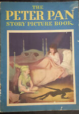The Peter Pan Story Picture Book - Whitmans -  1934