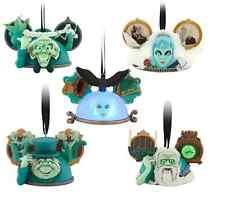Disney Haunted Mansion Ear Hat Ornament Set Costa Alavezos Limited Edition 2000