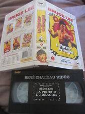 La fureur du dragon de Bruce Lee (Chuck Norris), VHS René Chateau, Kung-Fu, RARE