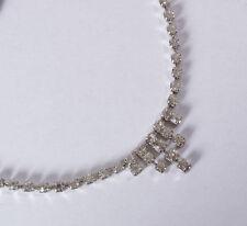 Modeschmuck-Halsketten & -Anhänger im Collier-Stil aus Kristall und Legierung mit Strass