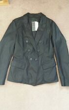 STILE BENETTON Woman faux leather jacket.NEW with tag. size 16. RRP £109. black