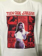 TEENAGE JAILBAIT MOVIE POSTER T SHIRT CULT FILM DVD HORROR