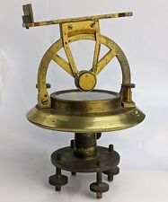 Antique Theodolite By Thomas Harris & Son London - c19th Superb Quality Brass