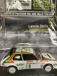 LANCIA DELTA S4  1986 AUTO LEGGENDARIE DA RALLY WRC N.44 SCALA 1:24 hachette