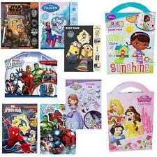 Children's - Disney / Character Activity Book / Packs - Choose Design