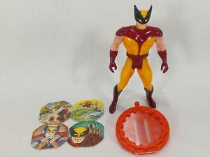 Vintage Marvel Secret Wars WOLVERINE Action Figure Shield & Inserts Mattel 1984