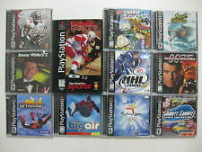 PLAYSTATION ** Lots of 11 ** Games SUPER GREAT CONDITION