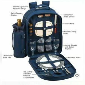 Picnic At Ascot 2 Person Picnic Backpack NWOT