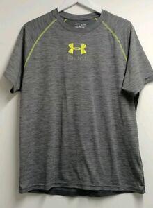 Under Armour UA Mens Shirt RUN Short Sleeve Running Graphic Heatgear Fitted XL
