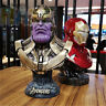 Avengers Infinity War Thanos Figure 1/2 Bust Resin Statue Figure Toy New