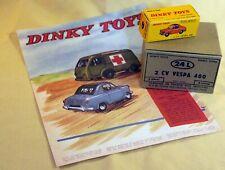 dinky toys 24L Vespa 400 boite repro