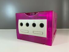 RARE Coque ICEDCUBE GAMECUBE Crystal Clear - Gamecube Shell transparent pink