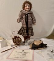 Lawton Doll ~ Girl Of The Limberlost ~1994 LE 57/500 ~ Complete w/ COA ~ New