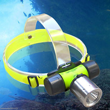 New CREE  T6 LED 1800LM Diving Swimming Waterproof Headlamp Headlight Head light