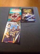 Lot Of 3 - Boys Easy Reading Books - Star Wars - NBA Championship Teams- Snakes