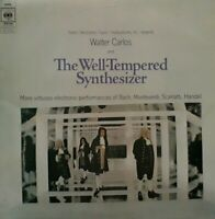 Walter Carlos-The Well Tempered Synthesizer Vinyl LP.1969 CBS 63656.