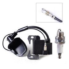 New Ignition Coil + Spark Plug for 49cc 2 Stroke Engine Dirt ATV Bike Chopper