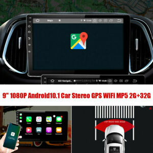 """9"""" Android10.1 Fit For BMW 318 320i E90 E91 2G+32G Quad-core Stereo GPS Wifi"""