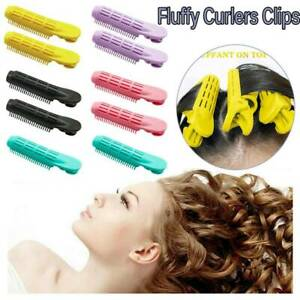 Natural Volumizing Hair Root Clip Curler Roller Wave Fluffy Clip Styling DIY New