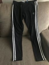 Women's ADIDAS Three Stripe Leggings Black Size L