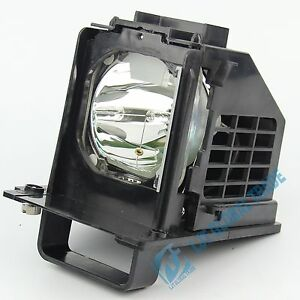 Lamp With Housing For Mitsubishi for WD-65638 WD-60638